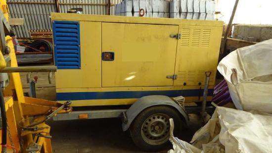 Endress GBL30TDMCDS Deutz 30KVA Stromerzeuger auf Anhänger