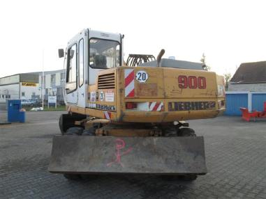 Koparka mobilna - Liebherr LH900
