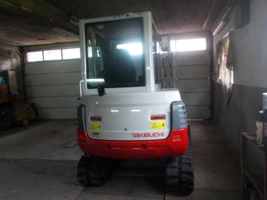 mini bager - Takeuchi tb235,2009,3148Bst,powertilt,3loffel,neue ketten