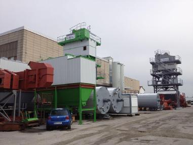 Centrale de malaxage pour asphalte fixe - Kovinarska-Wibau 60 - 400 tph