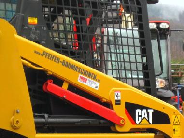 Kompaktlader - Caterpillar Kompaktlader CAT 226-B3 Zusatzhydr. vgl. 216 246