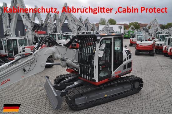 Takeuchi, TB 2150, Kabinenschutz Abbruchgitter Cabin protection
