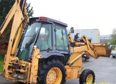 Backhoe loader - Case 580K