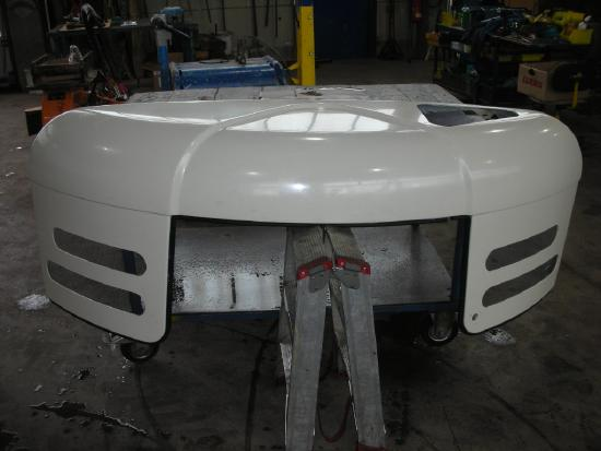 Motorhaube bonnet capot TW85 / HML32