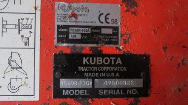 Разное - Kubota RC60R-F30A
