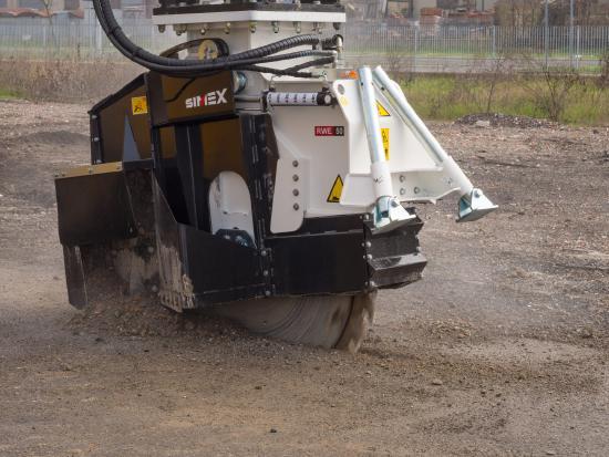 Simex RW50 für Bagger 9-18to.