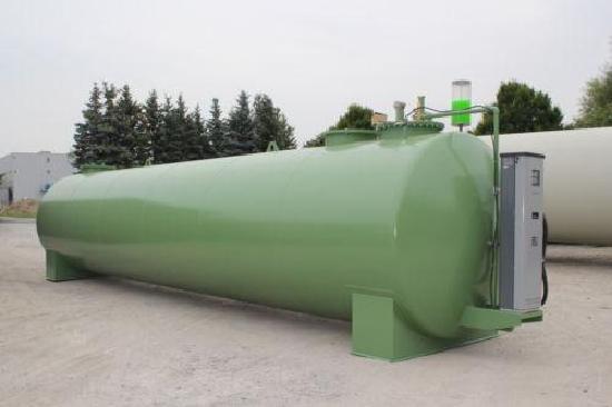 Dieseltankstelle 30.000 Liter mit Datenerfassung