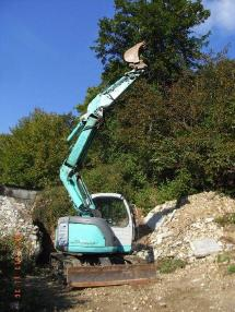Excavator cu lanţ - Kobelco SK 70 sr