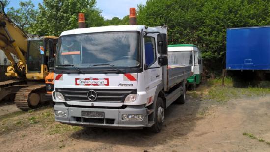 Mercedes Benz Atego 1218 L