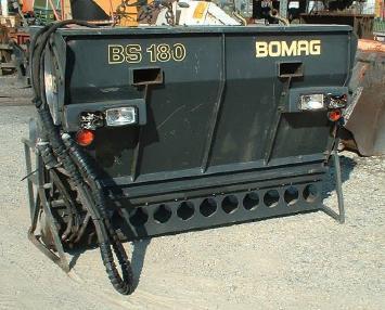 ऐस्फॉल्ट स्प्रेइंग (छिड़काव) मशीन - Bomag Splitstreuer Bomag BS 180
