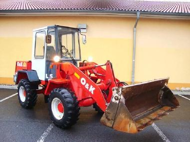Pala gommata - O&K L5 Radlader 4,5t wheelloader 5800h 4in1 Klappschaufel