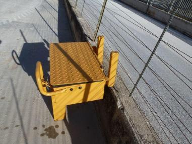 Mobil köprü vinç tertibatı - Volvo L120F