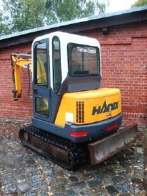 Mini excavator - Hanix Minibagger H24 A