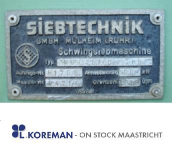 stationäre Siebanlagen - Siebtechnik 25/60-2