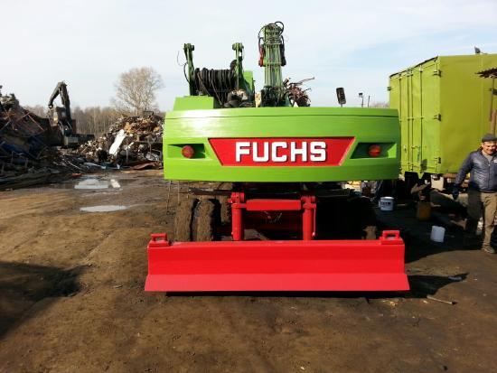 Terex-Fuchs 340 Капитальный ремонт