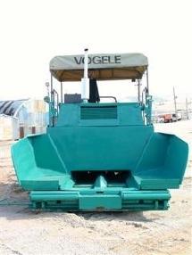 Pavimentadora de asfalto de cadenas - Vögele 1800 S