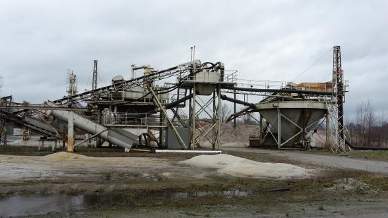 Klassieranlage für Sand und Kies mit Feinsandrückgewinnungs-Zyklon / Hersteller Bräuer /  VB: 29.900 €