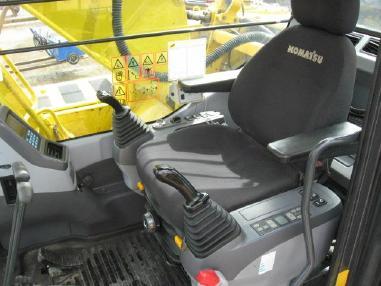 Экскаватор на гусеничном ходу - Komatsu PC210-7