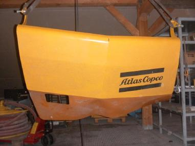 Akcesoria - Atlas Copco Drum for Hose L2C