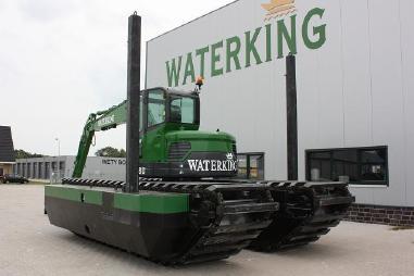 Draga - Waterking amphibien bagger