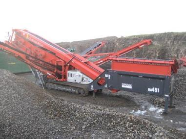 mobile Siebanlage - Sandvik QA451 - 3 deck