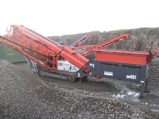 Sandvik QA451 - 3 deck