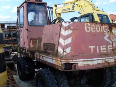 Mobile excavator - O&K MH 6