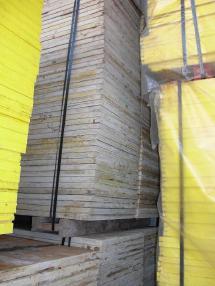Muottilevy - Doka gebrauchte 27mm Schalhaut doka 3SO gelb