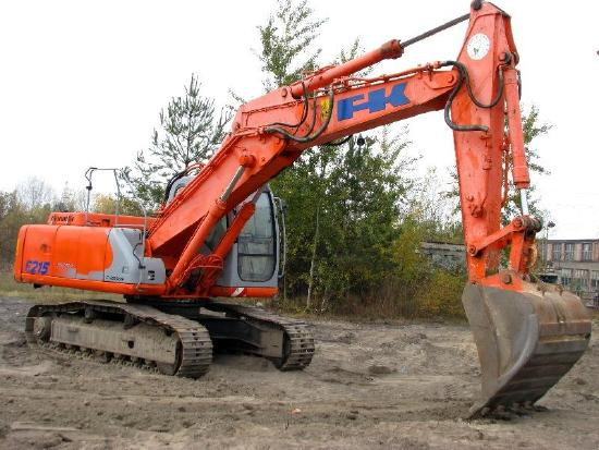 Fiat-Kobelco E215 evolution