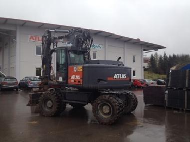 Excavator mobil - Atlas 180WSR
