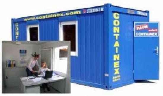 Containex 10' Büro- und Mannschaftscontainer