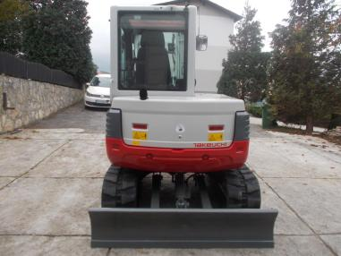 Mini excavator - Takeuchi tb 250,2626Bst,2012,martin schnell.+3loffel,neue k