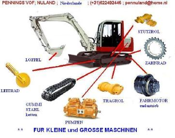 Tracked excavator - Other FAHRMOTOR,final drive ,ALL EXCAVATOR /bagger