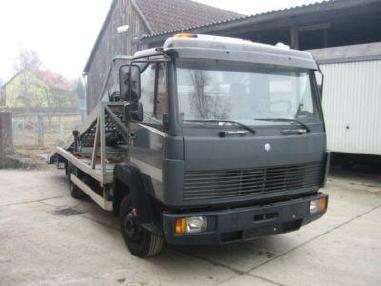 Odtahové vozidlo - Mercedes Benz 817 Doppelstock