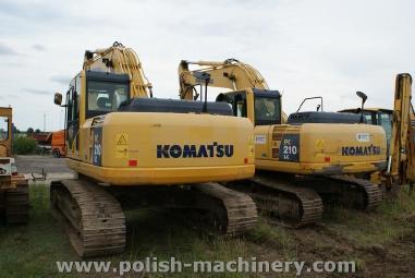 Koparka łańcuchowa - Komatsu PC 210 LC-8