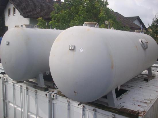 10.000 ltr. Druckluftbehälter