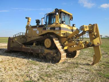 Бульдозер на колесном ходу - Caterpillar D8R II