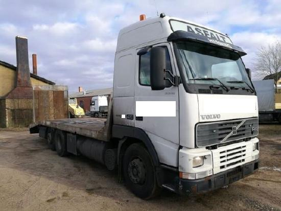 Volvo FH 12/420 6x2 , PLATEAU-NL.15,4to. Rampen
