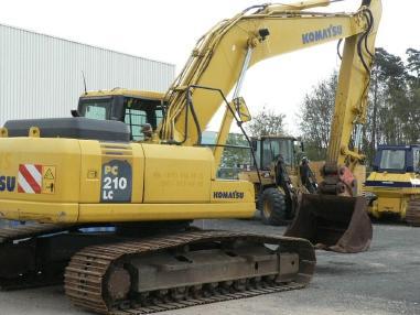 Escavatore cingolato - Komatsu PC210-7