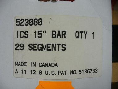 Accessories - ICS ICS ProForce Universal Diamantkette 38 cm für Hydraulische Kettensäge