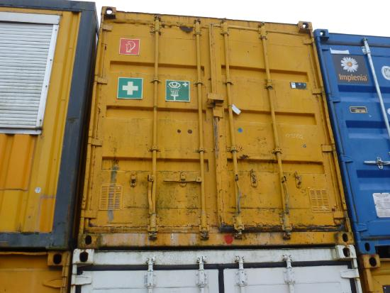 20' Materialcontainer/ Magazincontaine[9415001502] Materialcontainer/ Magazincontainer/ Werstattcontainer