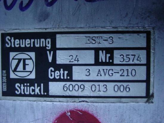ZF Steuerbox Liebherr L531 L541