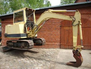 Minikoparka - Kubota KH 90 Minibagger excavator Hammerhydraulik 3,5t