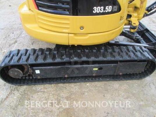 bager gusjeničar - Caterpillar 303.5D CR