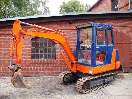 Kubota KH60 Minibagger excavator 3to. Hammerhydraulik