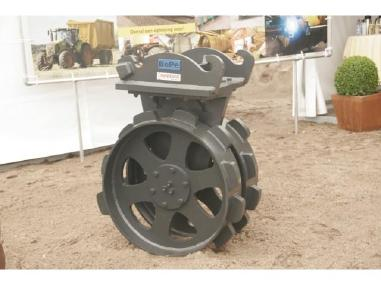 विविध - BePe Compaction Wheel-Verdichtingswiel 600 mm