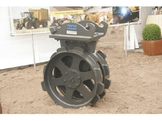 BePe Compaction Wheel-Verdichtingswiel 600 mm