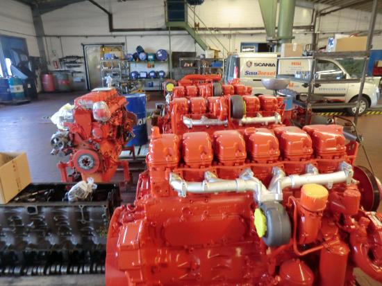 Schnell Biogasmotor Scania DC12