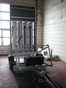 Autoaanhangwagen - Overige SDAH Nissen Verkehrsleittafel Typ VLT1-11-70 *Preis auf Anfrage*