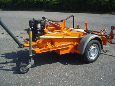 Asphalt spraying machine - Ebeling ST 400 DS